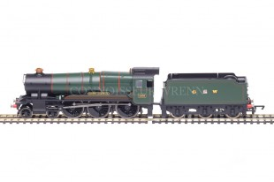 "Hornby County Class ""County of CORNWALL"" 4-6-0 GW Green running no.1006 model R2937"