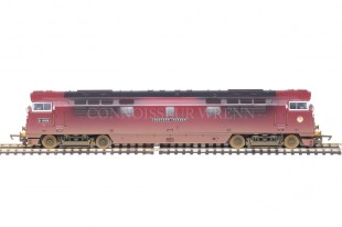 """Hornby Weathered Edition Class 52 """"Western Invader"""" D1009 model R2475"""