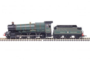 "Hornby Railroad ""Adderley Hall 4901"" GWR Class 4900 R3170"
