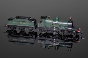 "Hornby Model Railways ""Duke Edinburgh"" GWR DEAN 4-2-2  SUPER DETAIL Locomotive R2828"