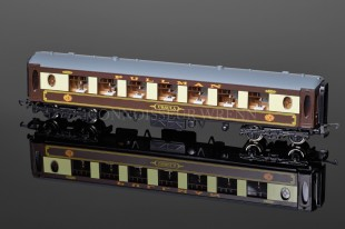 "Wrenn White Table ""PULLMAN"" Parlour Car Ursula W6001U"