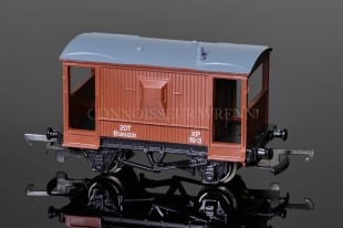 Wrenn BR Brown 20T Goods Brake Van running no. B950231 model reference W5099
