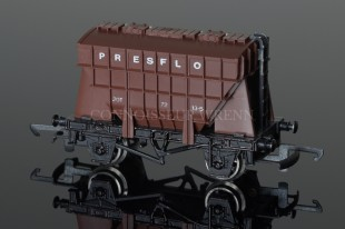 "Wrenn Presflo ""BRITISH RAIL"" 20T Cement Wagon Rolling Stock W5081"