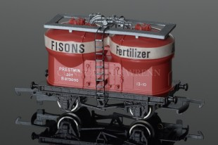 "Wrenn W4658 Silo Wagon ""FISONS FERTILIZER"" 20T Rolling Stock"
