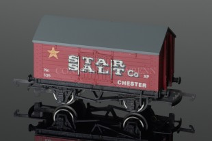 "Wrenn Salt Wagon ""STAR SALT"" 10T Low Roof Van Rolling Stock W5018"