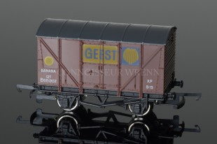 "Wrenn YELLOW SPOT ""GEEST"" 12T Banana Van B881802 PERIOD 4 LONG BOX W5007"