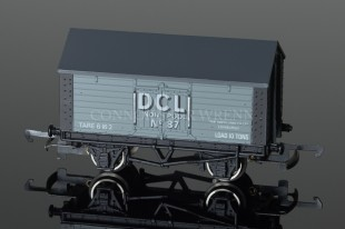 "Wrenn Salt Wagon ""DISTILLERS CO LTD"" 10T Low Roof Van Rolling Stock W5070"