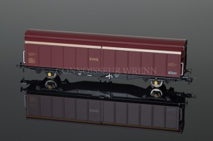 Bachmann Model Railways 46 Tonne VGA Sliding Wall Van Railfreight ref. 37-606A