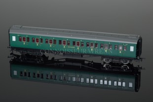 Hornby Model Railways SR Green Maunsell Corridor 3rd Class Coach R4336B