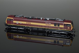 "Hornby EWS CO-CO Electric ""VICTOR HUGO 92001"" Class 92 R2354A"