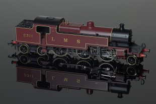 Hornby Model Railways LMS Maroon 2311 Fowler 2-6-4T Class 4P model R2224