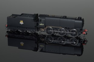 Hornby Model Railways BR 33017 Class Q1 0-6-0 SUPER DETAIL DCC LOCO R2355A