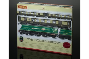 "Hornby Model Railways ""The Golden Arrow"" Battle of Britain Class Box Set R2369"