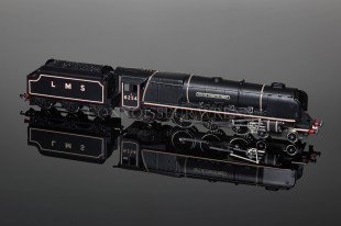 "Wrenn W2227""City of Stoke on Trent 6254"" Duchess Class 8P 4-6-2 LMS Black Locomotive"
