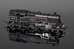 Wrenn W2406 BR Black Standard Tank 2-6-4t running number 80120 Locomotive