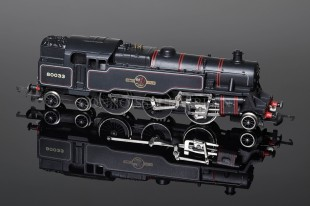 Wrenn BR Black Standard Tank 2-6-4t running number 80033 Locomotive W2218