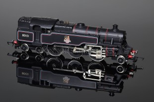 Wrenn W2279/5P BR Lined Black Standard Tank 2-6-4t running number 80151 Locomotive