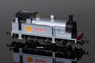 "Wrenn ""SHELL"" Silver Class R1 Tank 0-6-0T Locomotive model W2203"