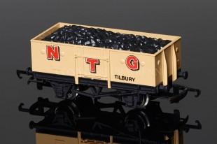 "Wrenn Coal Wagon ""NTG"" alternative 12T Steel Sided with Load Rolling Stock W5034"