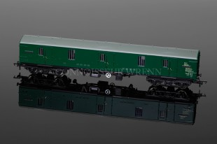 Bachmann Branchline Model railways MK1 GUV Maroon (SR GREEN) 39-273A