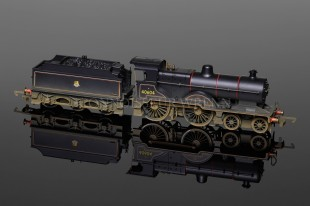 Hornby Model Railways BR 4-4-0T Class 2P 40604 Weathered model R2527