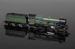 "Wrenn 4-6-0 Castle Class ""Clun Castle"" GWR Green Livery Locomotive W2247"