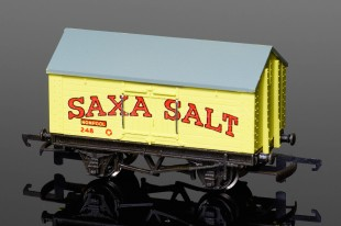 "Wrenn W4665P Salt Wagon ""SAXA SALT"" 10T Low Roof Van Rolling Stock"