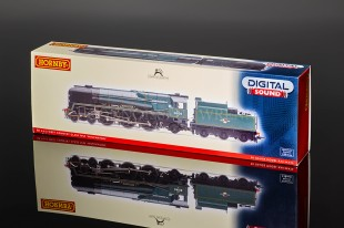 """Hornby Model Railways BR West Country Class """"Wincanton"""" WITH SOUND R3160XS"""