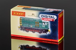 "Hornby Class 08 ""BR GREEN"" D3105 Diesel Electric Shunter model R2903XS"