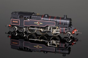 Wrenn BR Black Standard Tank 2-6-4t  RARE RED transfers 80033 locomotive W2218
