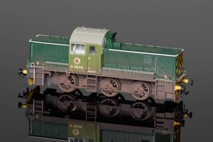 Heljan Railways 00 gauge Class 14 BR GREEN D9535 Locomotive model 1403