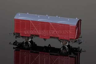 "Wrenn BR Maroon 10T UN-NUMBERED ""Passenger Fruit Van"" W4305X Rolling Stock"