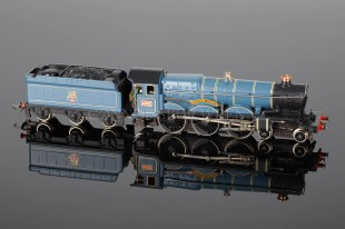 "Wrenn W2223 4-6-0 Castle Class named ""Windsor Castle"" BR Blue Livery Locomotive"