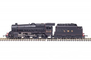 Hornby Model Railways LMS Black no. 5112 - 4-6-0T Class 5 model R2881