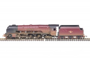 "Hornby ""City of Nottingham"" BR Maroon 4-6-2 Duchess Class 8P Locomotive R2383"