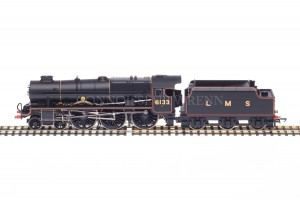 "Hornby DCC READY Royal Scot 7P 4-6-0 ""The Green Howards"" 6133 model R2631"