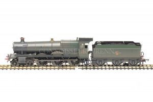 "Hornby Grange Class ""PAVILAND GRANGE"" BR WEATHERED GREEN model R3019"