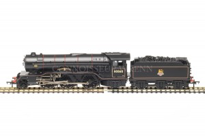 Bachmann BR Black Early Crest V2 DURHAM SCHOOL 60860 Model 31-564