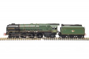 "Hornby BR (Late Emblem) Class 8P ""Duke of Gloucester model R3236"