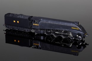 "Wrenn ""SPARROW HAWK"" N.E. Black 4463 Class A4 Pacific Locomotive W2282"