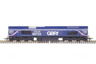 "Hornby ""GBRf CHINOOK"" CO CO DIESEL ELECTRIC Class 66 no. 66723 model R3076"