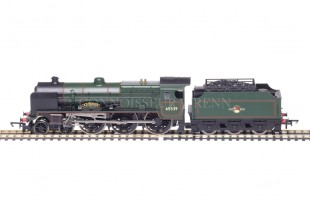 "Hornby Patriot Class ""E.C.TRENCH"" 4-6-0 BR Black running no. 45539 model R3154"
