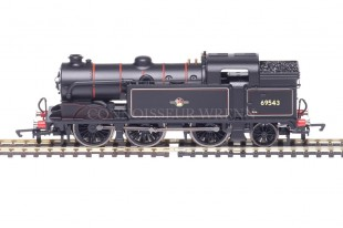 Hornby Railways BR Black Late Crest Class N2 0-6-2t 69543 model R3188