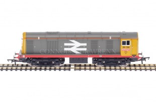 "Hornby DCC BR Grey ""RAILFREIGHT"" BO BO Diesel Electric 20118 Class 20 R2760"