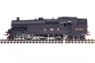 Hornby DCC FITTED LMS Black Stanier 4MT 2-6-4t Class 4P 2484 model R2730X
