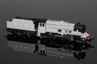 Wrenn WAR DEPARTMENT 302 GREY Class 8F 2-8-0 Locomotive W2281