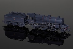 Bachmann BR Lined Black Crab 42942 early emblem WEATHERED model 32-179