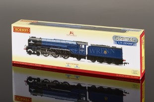 "Hornby Railways A1 Pacific ""Peppercorn"" BR Blue 60163 R3245TTS SOUND"
