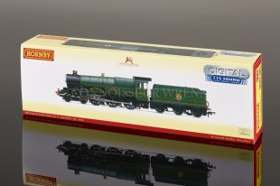 "Hornby BR Green E/E 4-6-0 Castle ""Earl of St Germans"" model R3383TTS"