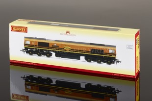 Hornby Freightliner CO CO DIESEL ELECTRIC Class 66 no. 66 413 model R3686